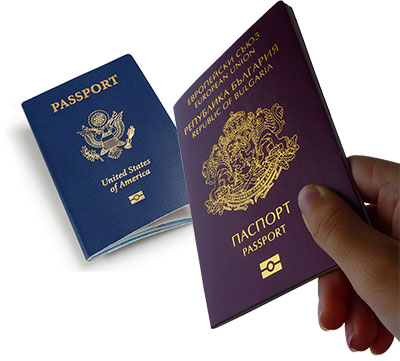 American vs Bulgarian passports