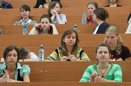 Students from Kyiv