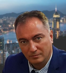 Alexander Dobrinov in Hong Kong