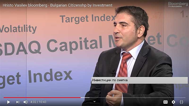 Hristo Vasilev Bloomberg CBI
