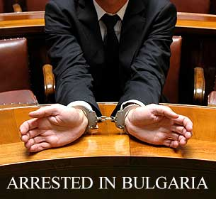 arrested in Bulgaria