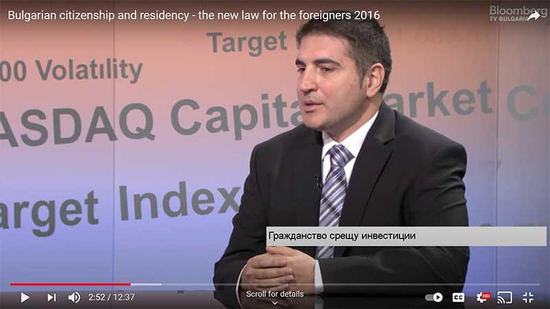 lawyer Vasilev on Bloomberg