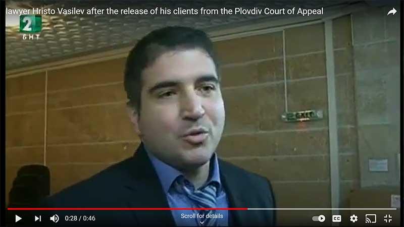 Hristo Vasilev penal lawyer