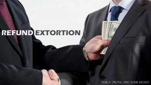 refund extortion Bulgaria